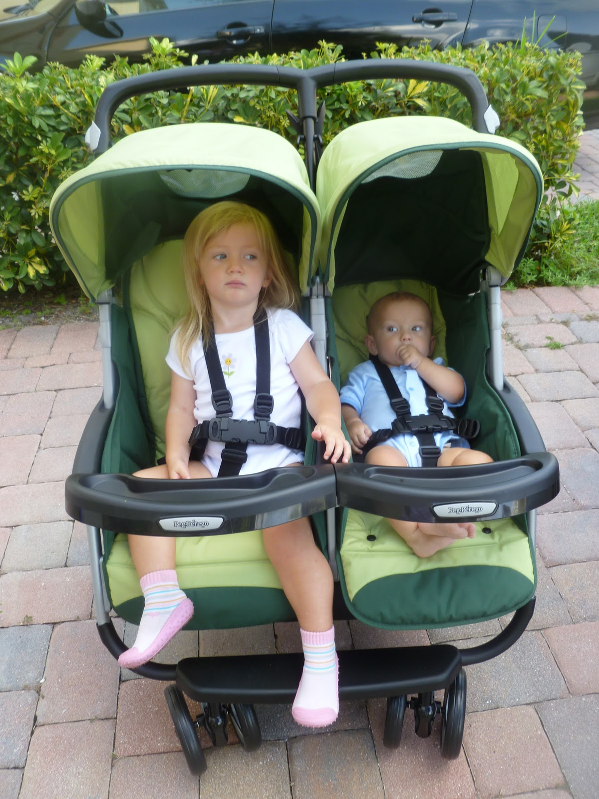 Peg Perego Aria Twin Stroller Review